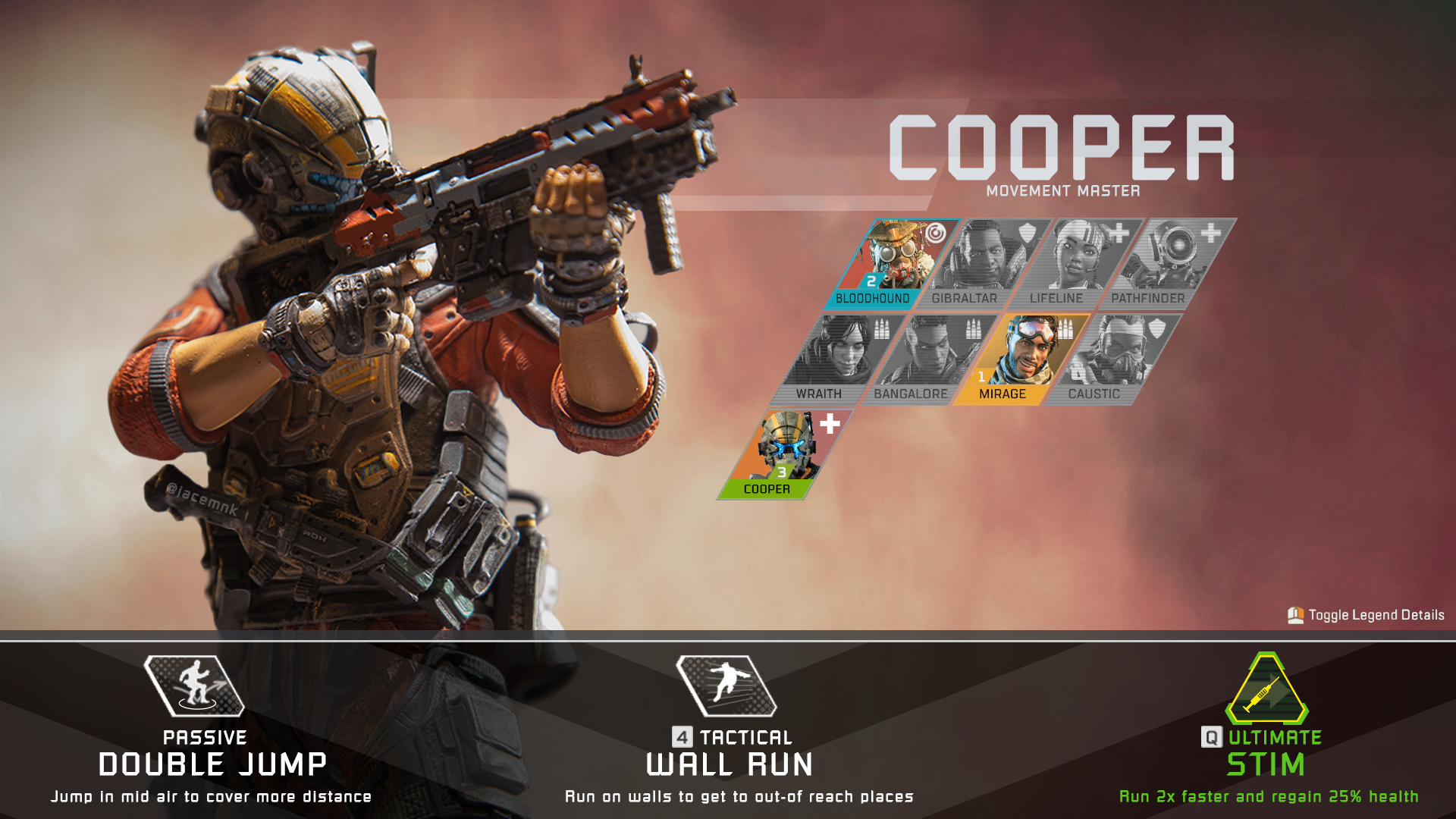 apex legends nieuwe hero cooper