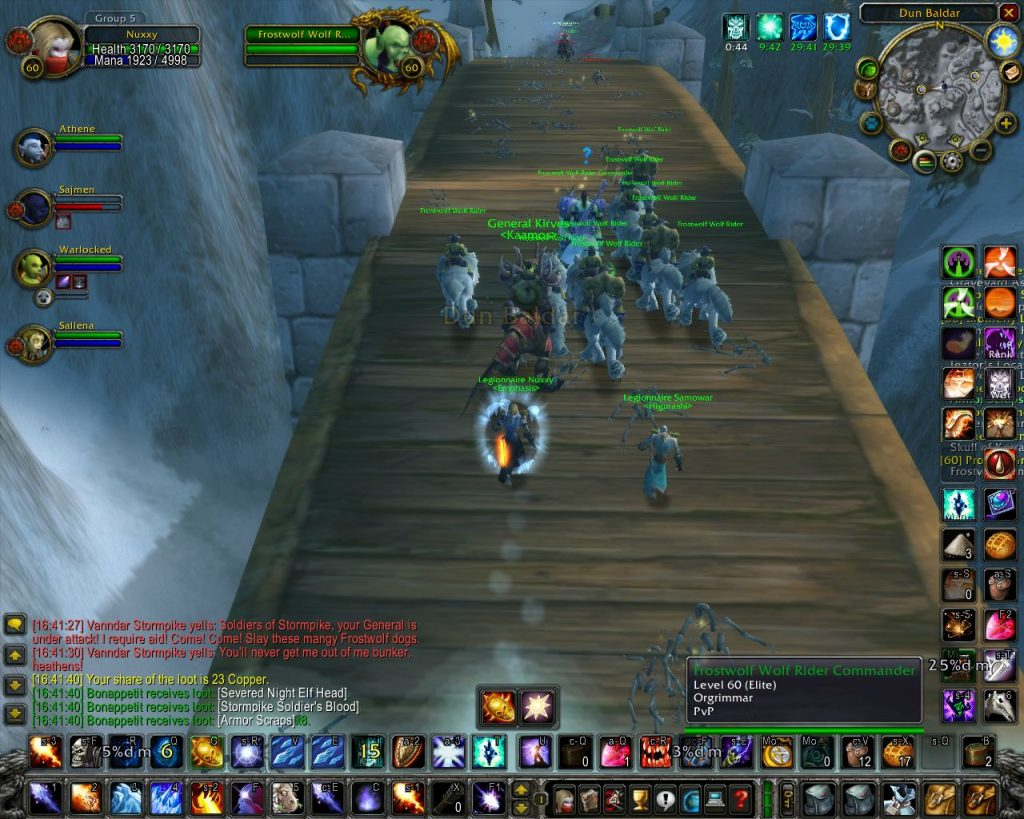 alterac valley wow classic bridge