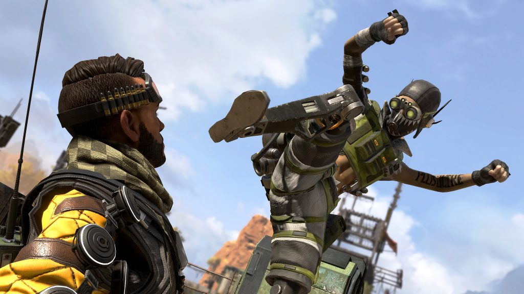 apex legends octane en mirage
