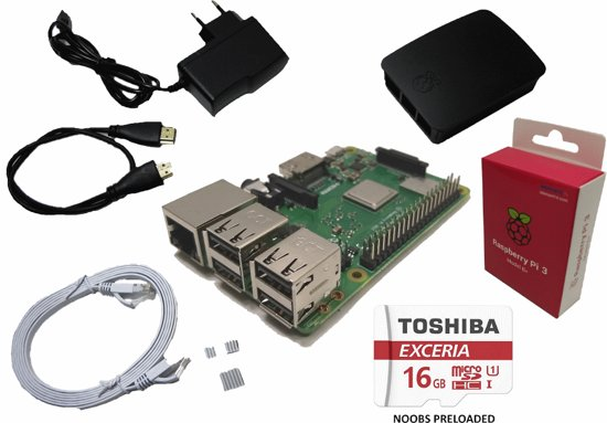 raspberry pi 3 model b starterkit