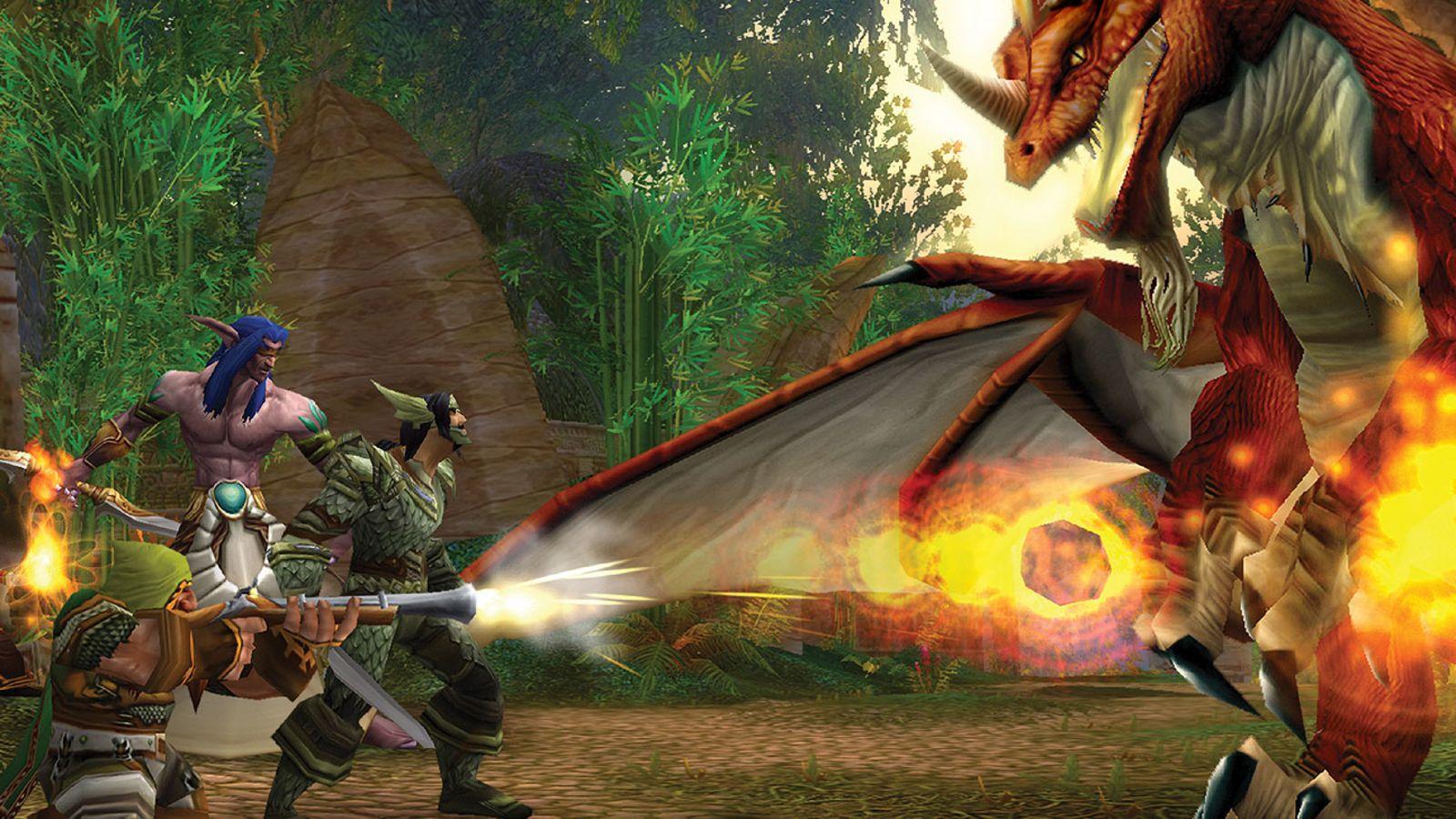 world of warcraft classic box dragon