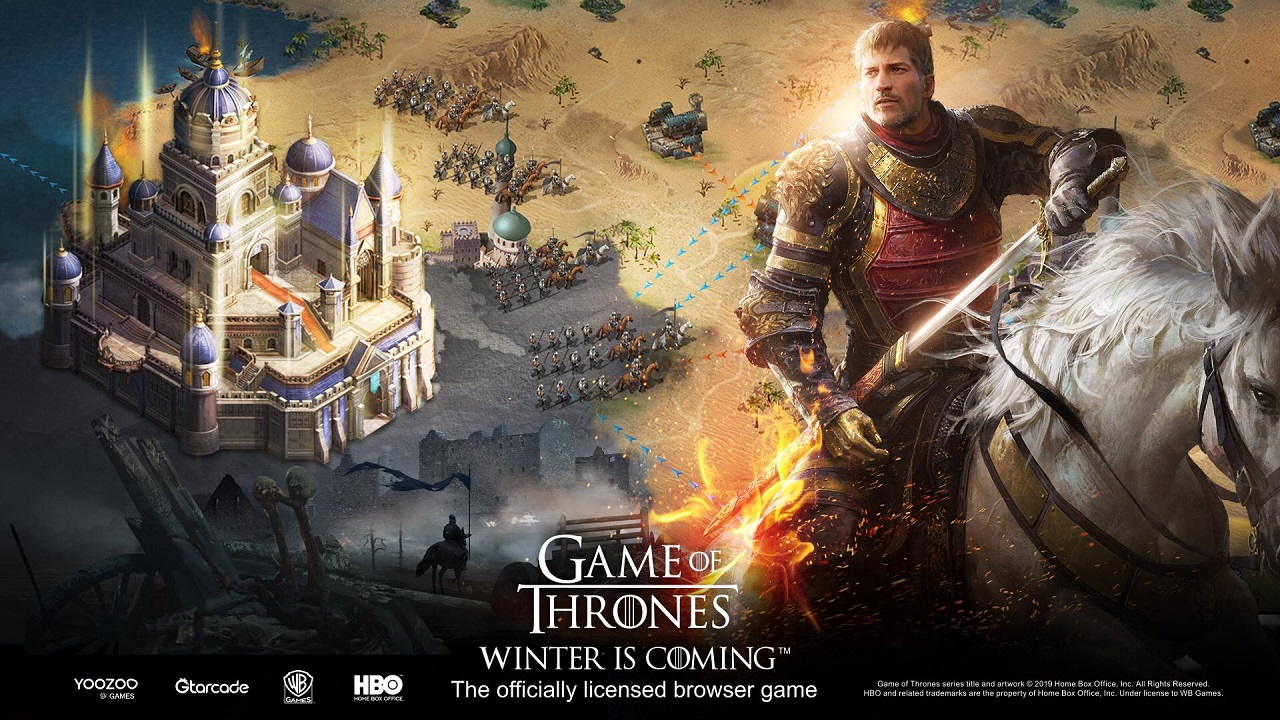 game of thrones winter is coming game