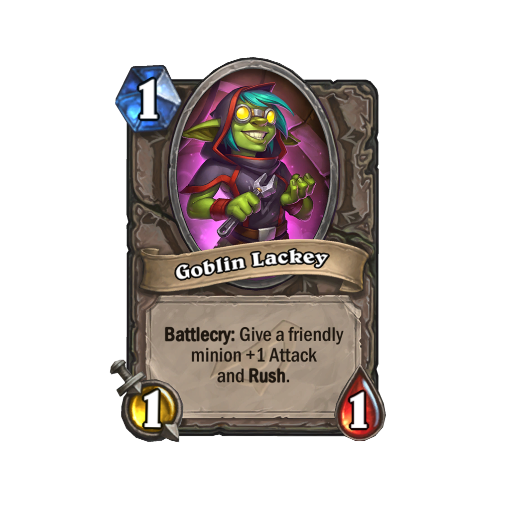 hearthstone rise of shadows lackey card