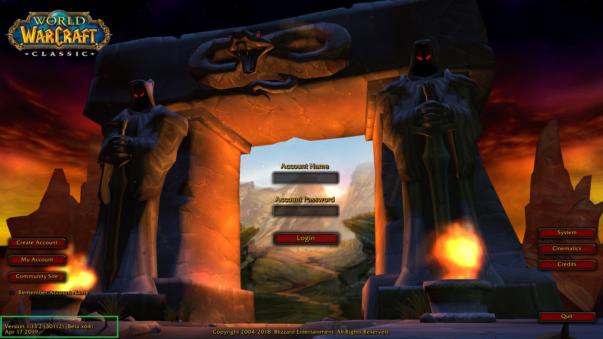wow classic beta april 2019