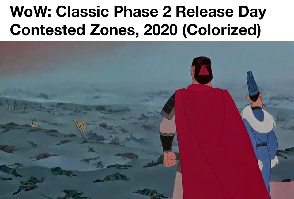 wow classic phase 2 pvp