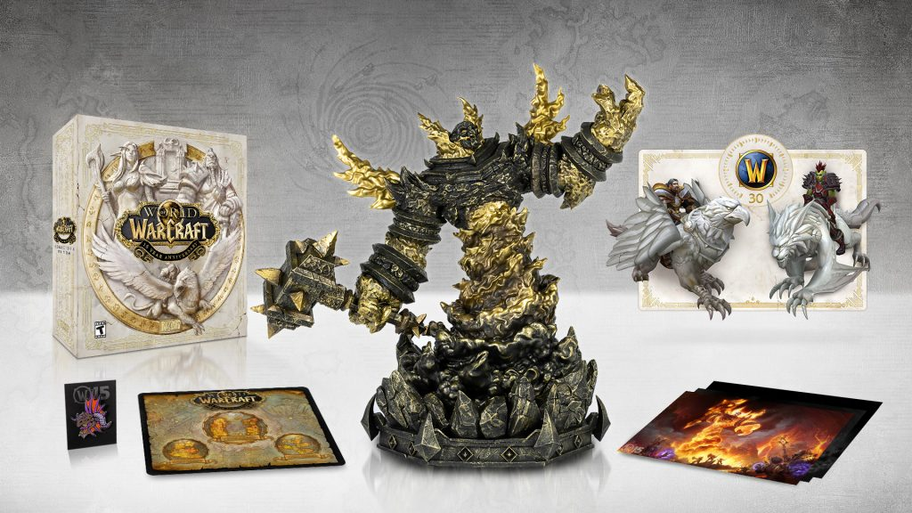 world of warcraft 15 jaar collectors edition