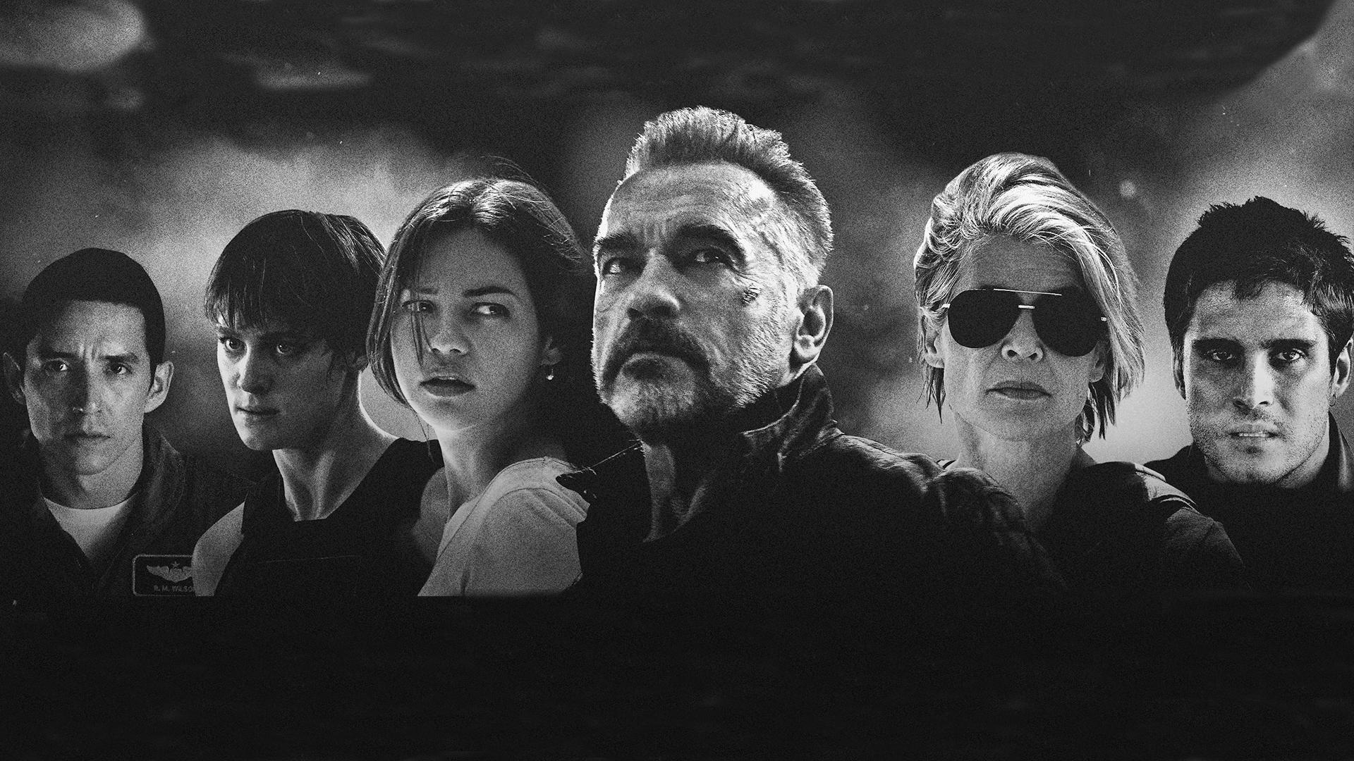 terminator dark fate actors