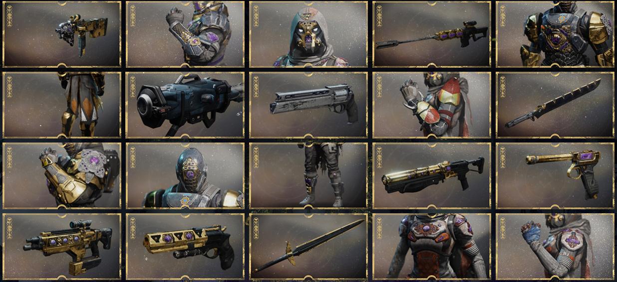 menagerie gear rewards