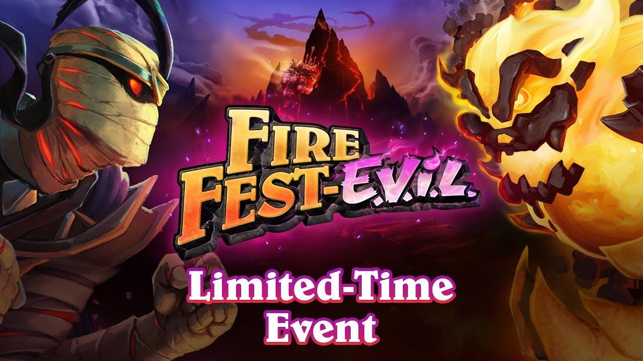 hearthstone fire fest evil