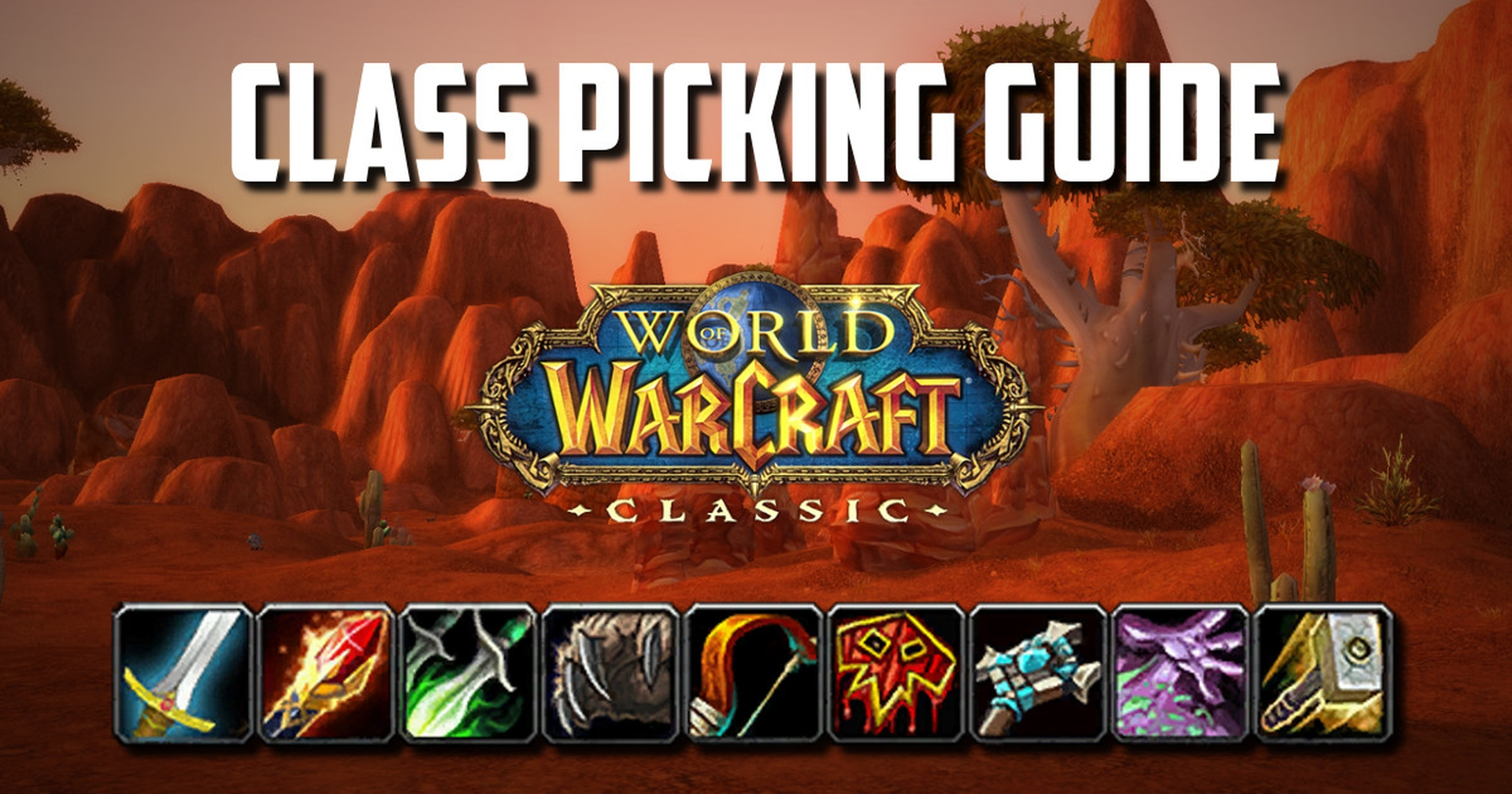 class picking guide wow classic